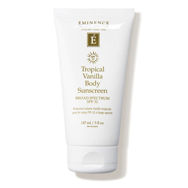 Eminence Tropical vanilla body sunscreen SPF 32/www.natuurlijkerjong.nl/winkel